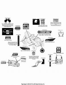 Troy Bilt Riding Lawn Mower Parts Diagram