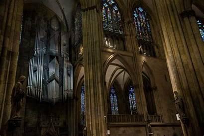 Regensburg Cathedral Windows Organ Germany Gothic Half