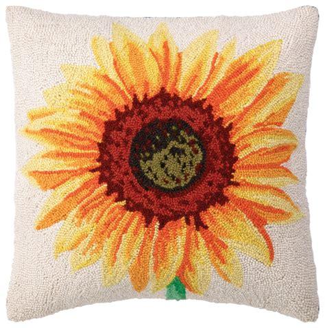 sunflower decorative pillows  brighten  home
