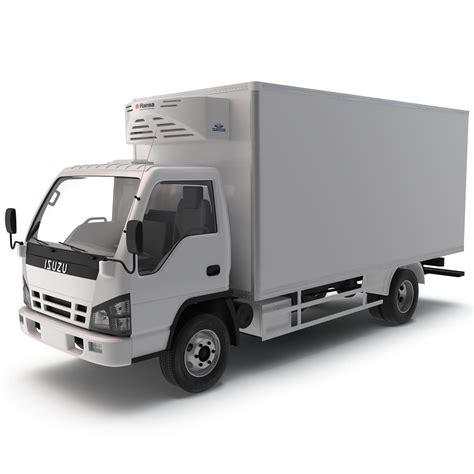 Truck Refrigerator by 3ds Max Refrigerator Truck Isuzu Npr