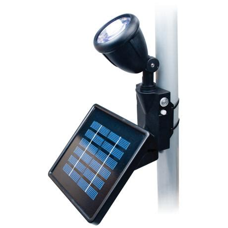 black outdoor solar led flagpole light 4c342 www