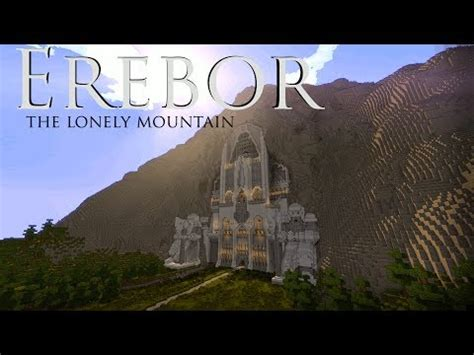 Erebor - The Lonely Mountain Minecraft Project