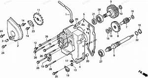 Honda Motorcycle 1991 Oem Parts Diagram For Transmission