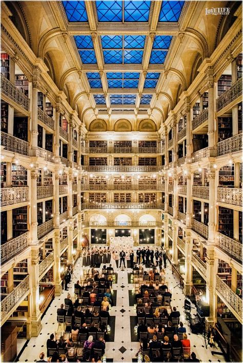 weddings george peabody library private