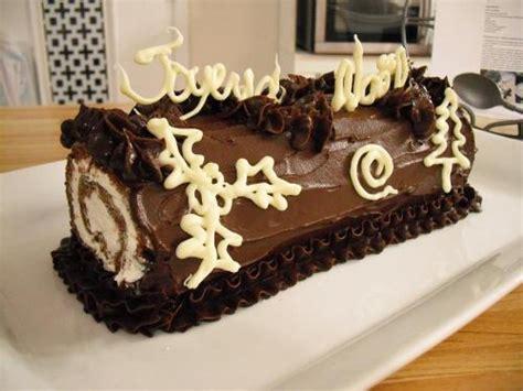 idee deco buche de noel roul 233 au chocolat facile de cyril lignac