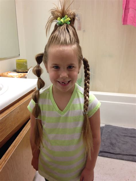 Wacky Hairstyles For by Hair Day Or Wacky Wednesday My Style Wacky Hair