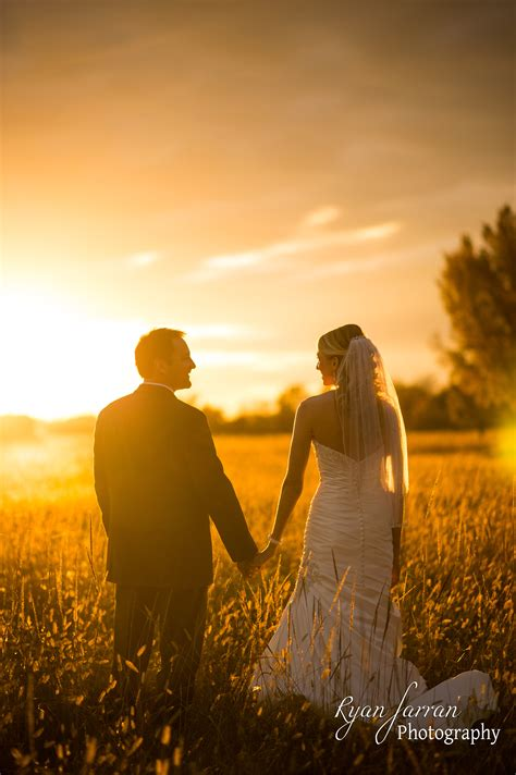 Bartlesville Ok Outdoor Sunset Wedding Tulsa Wedding