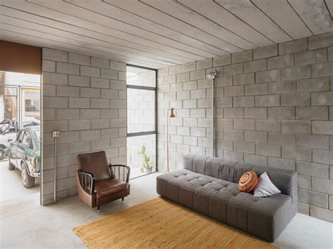 cinder block house low cost concrete block house in brazil designs ideas