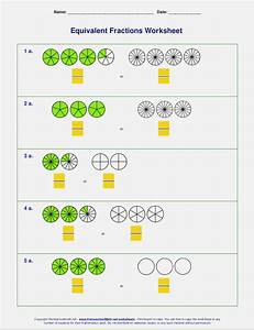 Equivalent Fractions Worksheet Grade 4  U2013 Dailypoll Co