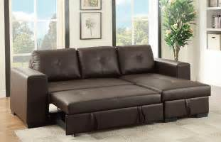 sectional sofa with pull out bed and recliner sectional sofa w pull out bed storage reversible chaise