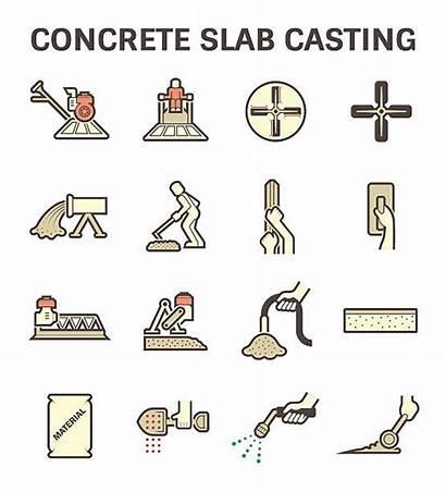 Concrete Slab Cemento Della Lastra Armato Bastidor