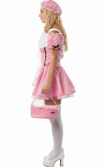 Miss Fancy Muffet Costume Nursery Adult Womens