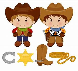 Little Cowboy Digital Clip Art Personal and by printcandee ...