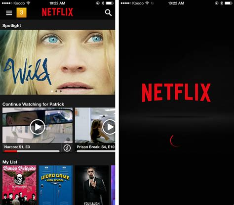 netflix app for iphone netflix s and iphone app now allows in app