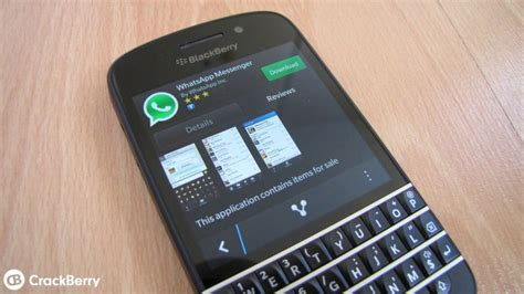 whatsapp for blackberry z10 q10 other