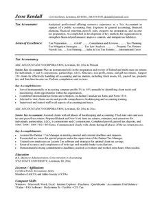 Accounting Resume Sles Canada by Career Objective Resume Accountant Http Www