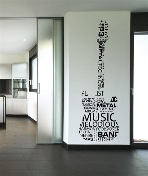 guitar wall stickers wall decals guitar stickerbrand