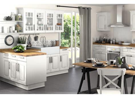plan de travail cuisine gris clair cuisine bistro cuisine
