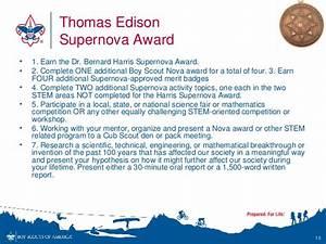 Boy Scouts STEM Nova Awards