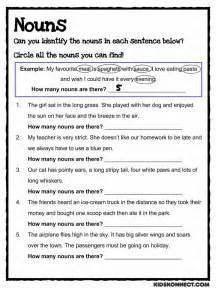 nouns for worksheets noun study worksheet common