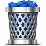 Bin Garbage Clipart Icons Transparent