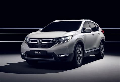 Honda Cr-v Hybrid Prototype Revealed, On Sale In Europe