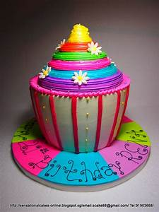 The Sensational Cakes: GIANT CUPCAKES CAKE SINGAPORE ...