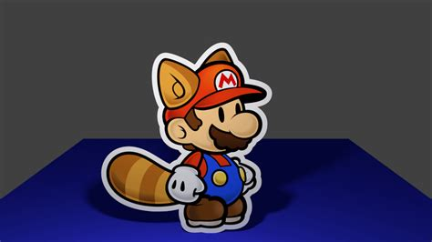 Animated Mario Wallpaper - paper raccoon mario animated by markproductions on