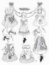 Paper Dolls Coloring Pages Doll Printable Victorian American Pioneer Sheets Colouring Disney Bestcoloringpagesforkids Tpettit Vwh Printables Cut бумажные куклы Crafts sketch template