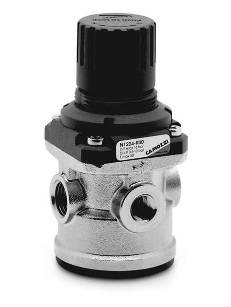 Series N Pressure Regulators - Camozzi Automation Ltd