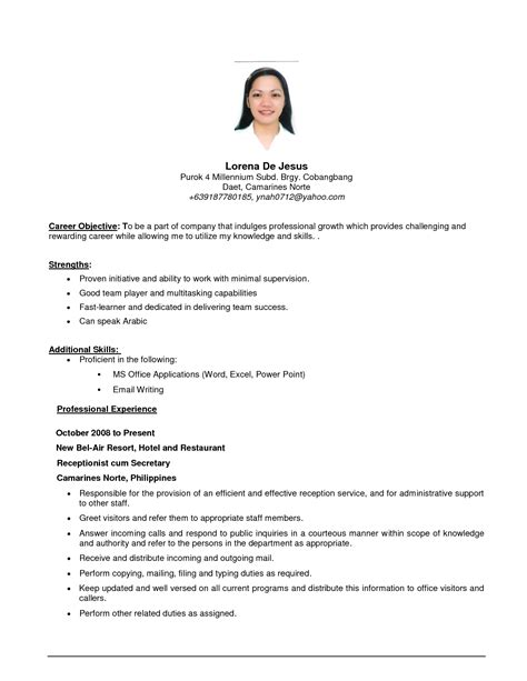 work resume samples job resume resume cv