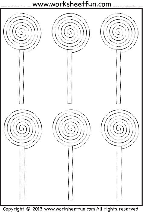 candy tracing  coloring  halloween worksheets