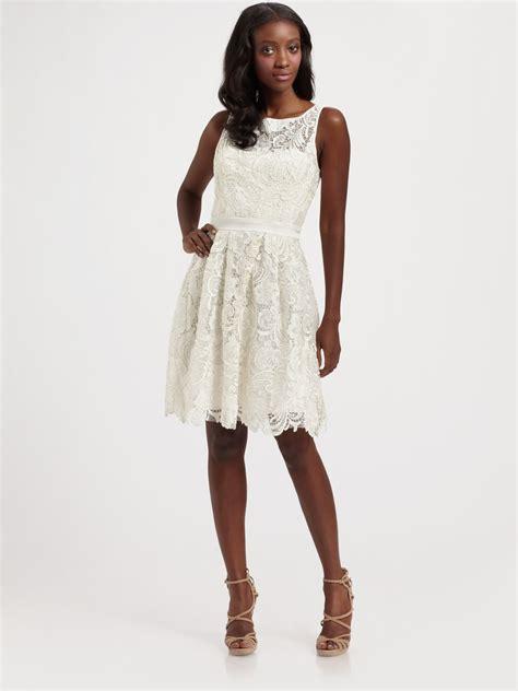 white dresses white lace dress dressed up