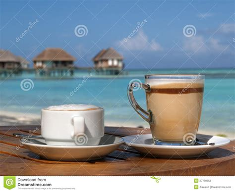 Coffee On Beach In Sunny Day Stock Photo Aeropress Fruity Coffee Machine Reviews Championship Recipe Best Burr Grinders Uk Hand Maker Singapore Bean Grinder For Cold Brew By Weight