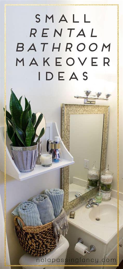 small apartment bathroom storage ideas best 25 rental bathroom ideas on rental