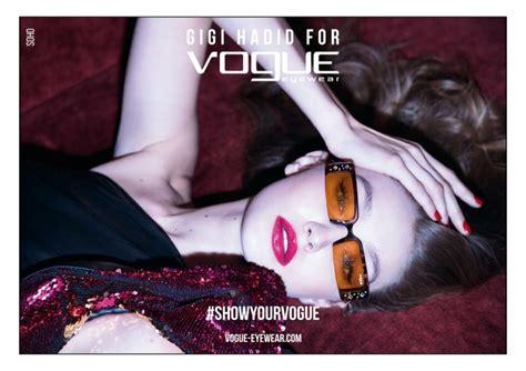 Gigi Hadid x Vogue Eyewear Spring 2019 Ads | Fashion Gone ...