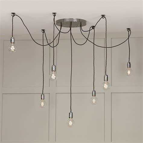 how to hang pendant lights 7 light cluster ceiling pendant hang lights using