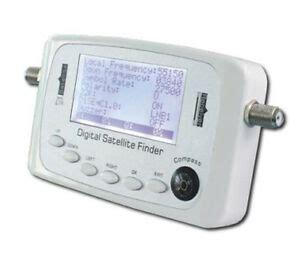 sf 500 digital satfinder pointeur satellite astra hotbird reglage parabole ebay