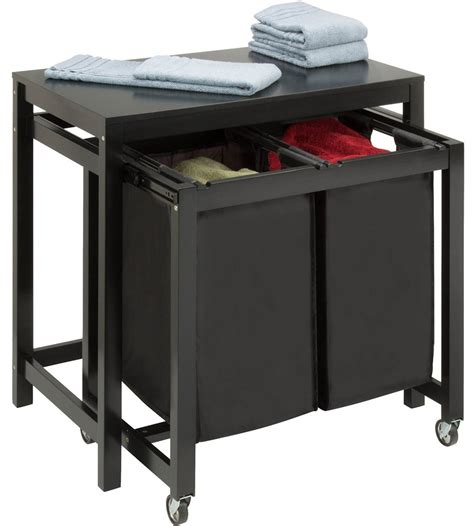 Laundry Folding Table  Double Sorter In Laundry Room