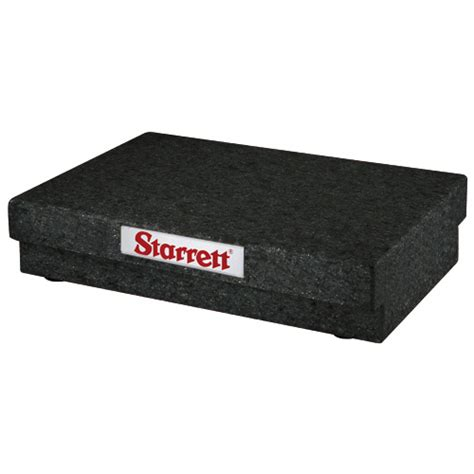 starrett 85086 superior black 30 x 48 x 6 granite surface