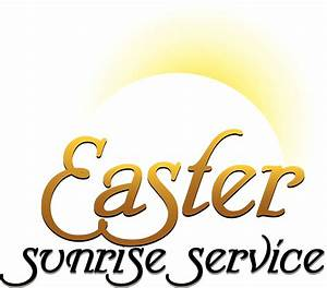 Easter Sunday Service Clipart