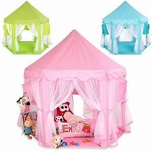 Cabane Enfant Tissu : achat kiduku tente de jeu pour enfants ch teau de princesse tente de jeu maison de jouet ~ Teatrodelosmanantiales.com Idées de Décoration