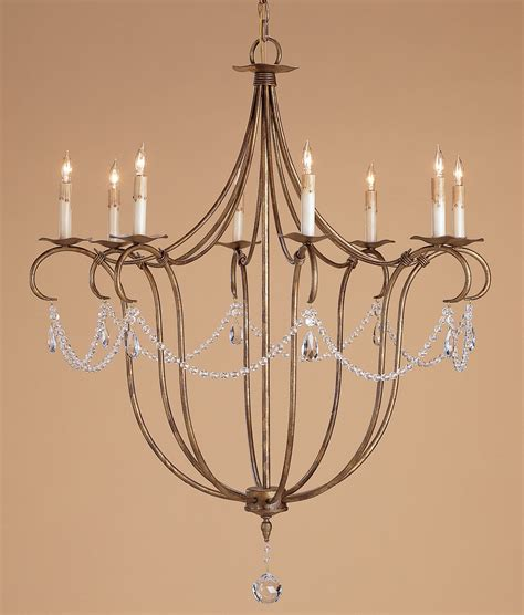 currey and company 9881 lights eight light chandelier