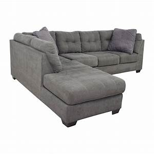 Left chaise sectional sofa design of chaise lounge for Flexsteel 4 piece sectional sofa with right arm facing chaise in brown