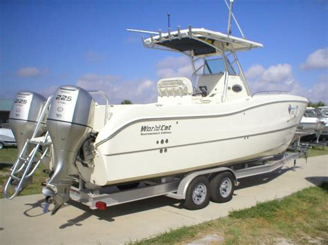 World Cat Boats The Hull Truth by 08 World Cat 27te The Hull Truth Boating And Fishing