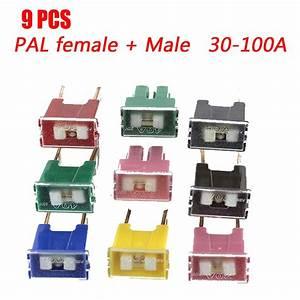 9  12  24  30  60  108pcs Car Fuse Box Automotive Japanese Auto