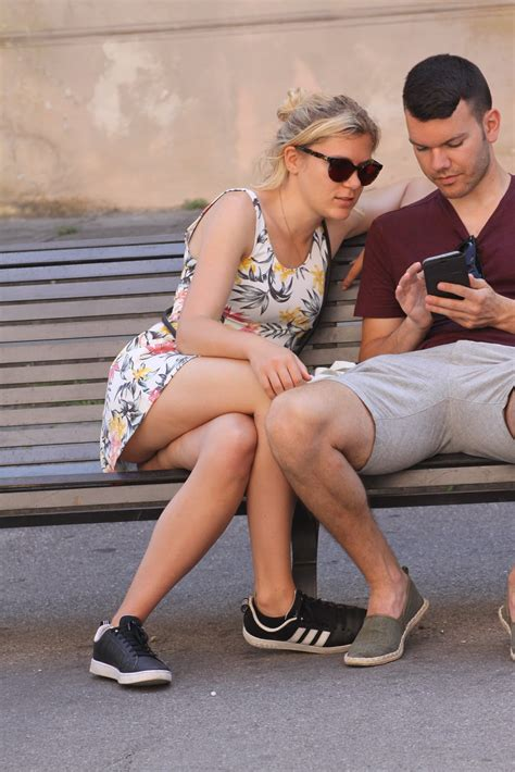 Heavenly Ladies Milf Upskirt And Downblouse Street Candids