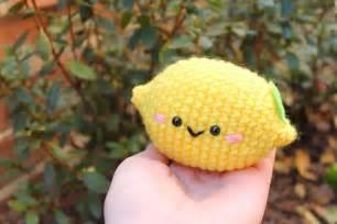 crochet cuisine amigurumi food lemon amigurumi free pattern