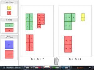 algebra tiles app for ipad iphone education