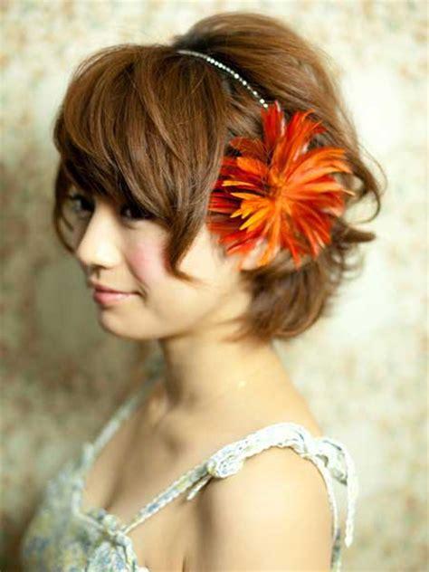 bridal accessories  short hair short hairstyles
